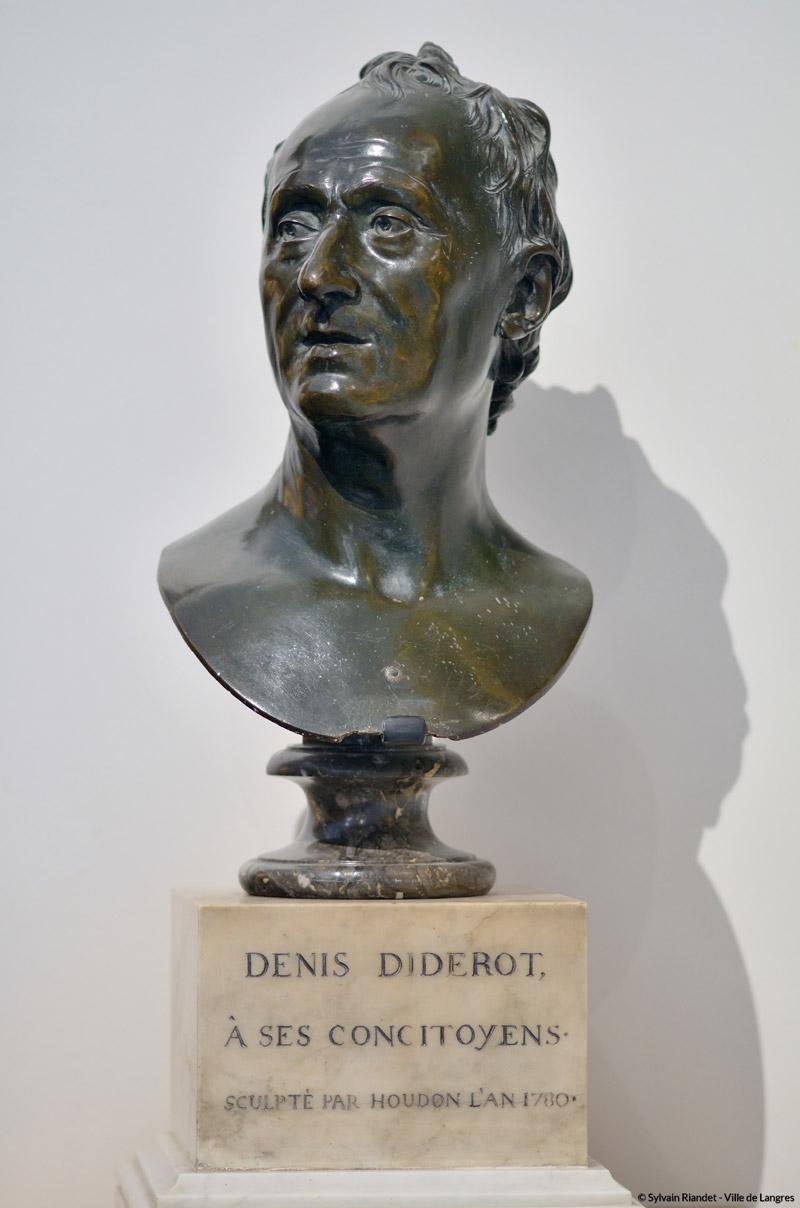 """Résultat de recherche d'images pour """"musée de langreshoudonbuste de denis diderot"""""""