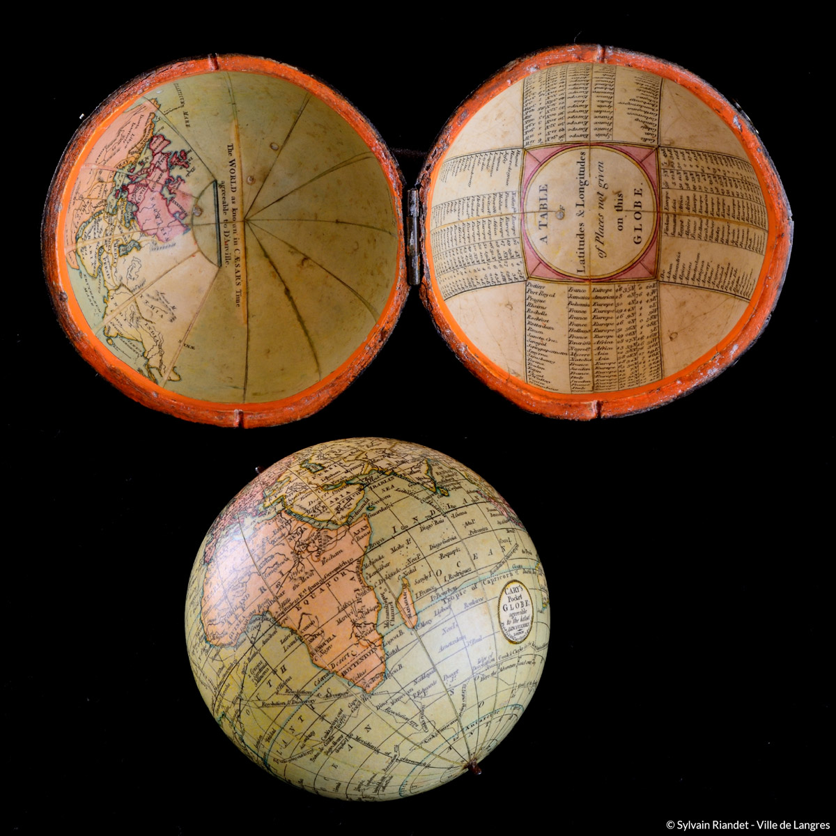 globe de poche mus es de langres maison des lumi res denis diderot mus e d 39 art et d 39 histoire. Black Bedroom Furniture Sets. Home Design Ideas