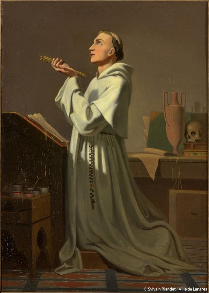 Dumas-Fra-Angelico-en-priere_ Avec copyright