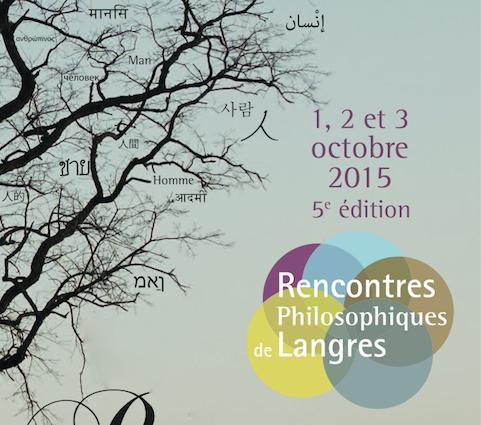 Rencontres philosophiques de langres 2018